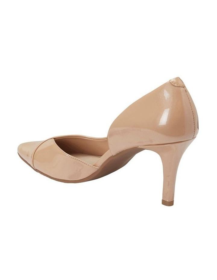 Mikado Nude Pearl Patent Heeled Shoe image 4