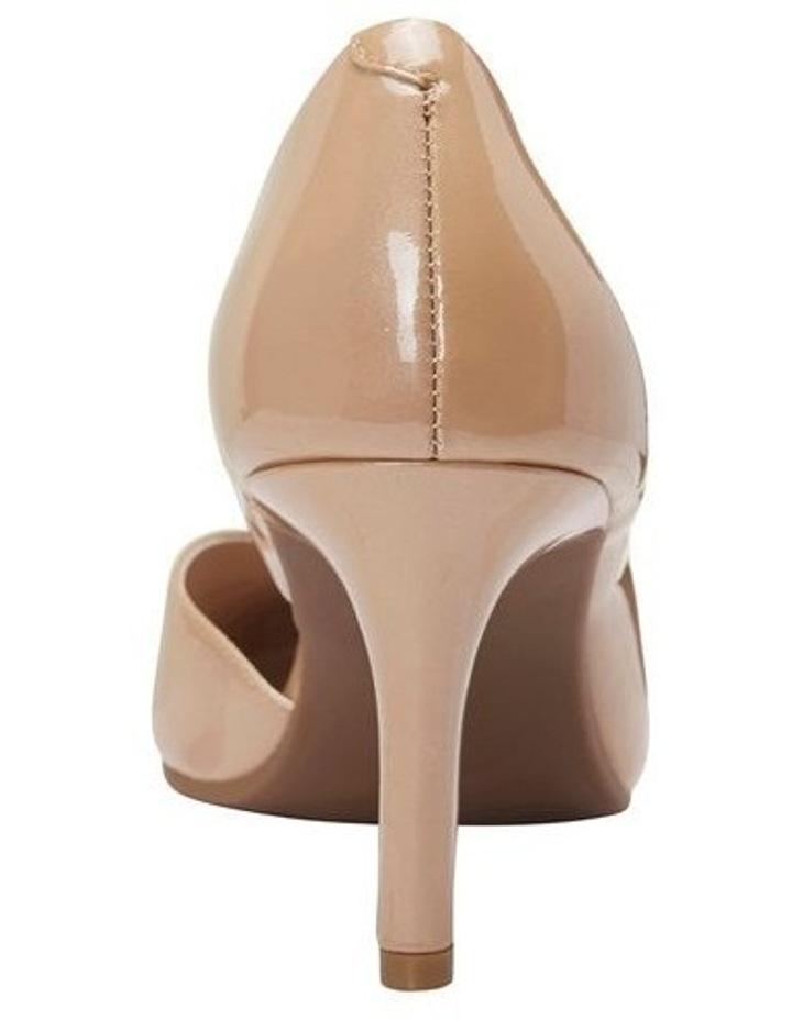 Mikado Nude Pearl Patent Heeled Shoe image 5