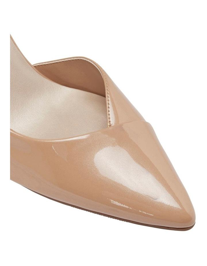 Mikado Nude Pearl Patent Heeled Shoe image 7