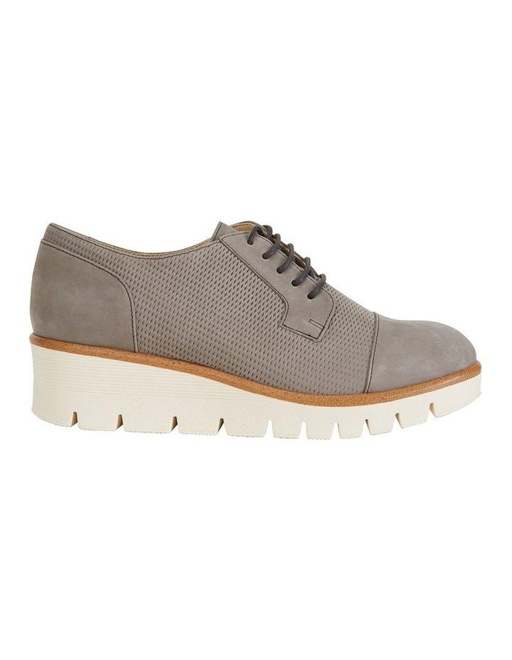 Vega Taupe Nubuck Flat Shoes by Sandler