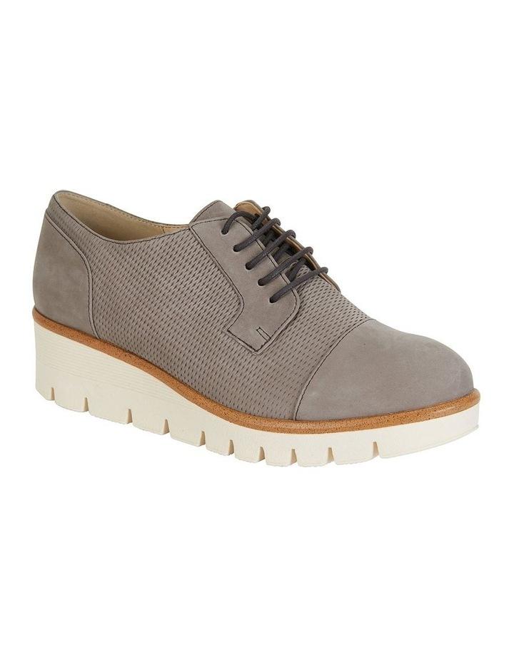 Vega Taupe Nubuck Flat Shoes image 2