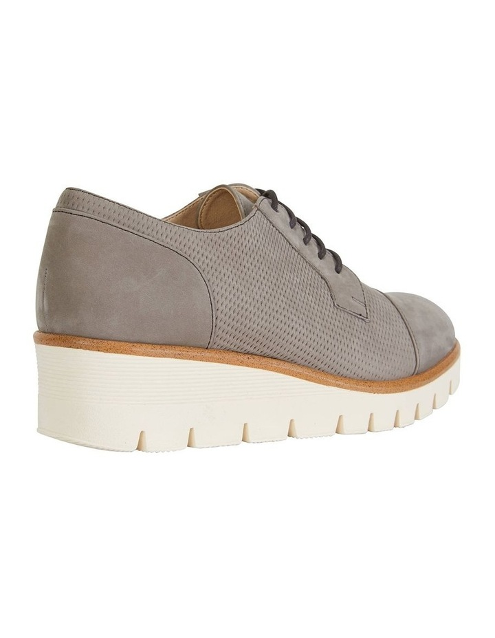Vega Taupe Nubuck Flat Shoes image 3