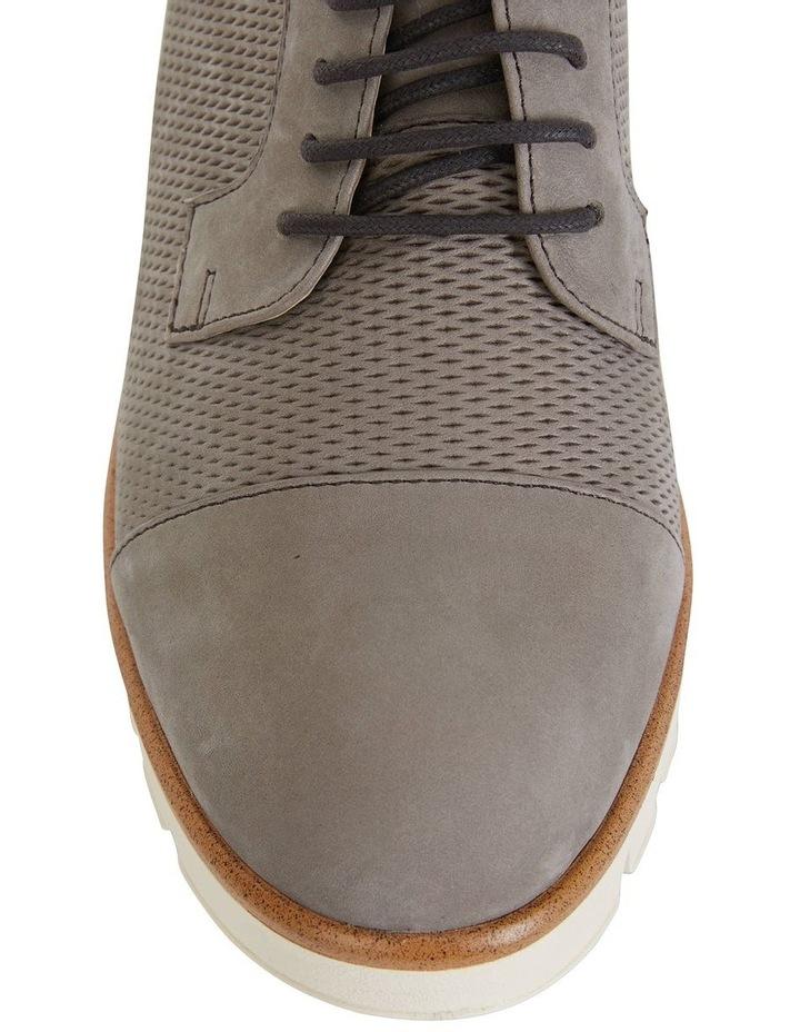 Vega Taupe Nubuck Flat Shoes image 4