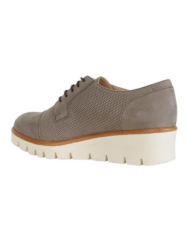 Vega Taupe Nubuck Flat Shoes image 5