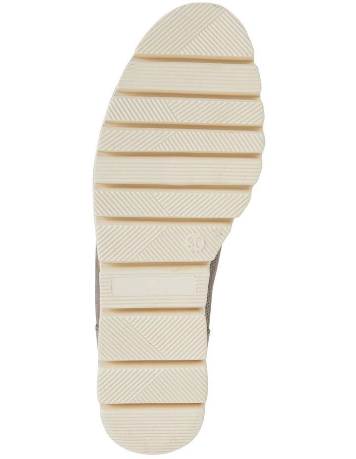 Vega Taupe Nubuck Flat Shoes image 6