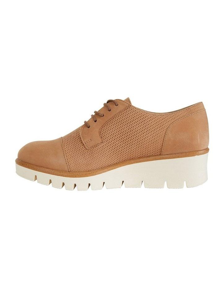 Vega Tan Nubuck Flat Shoes image 2