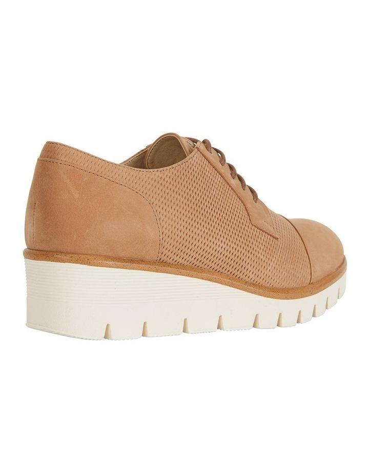 Vega Tan Nubuck Flat Shoes image 3