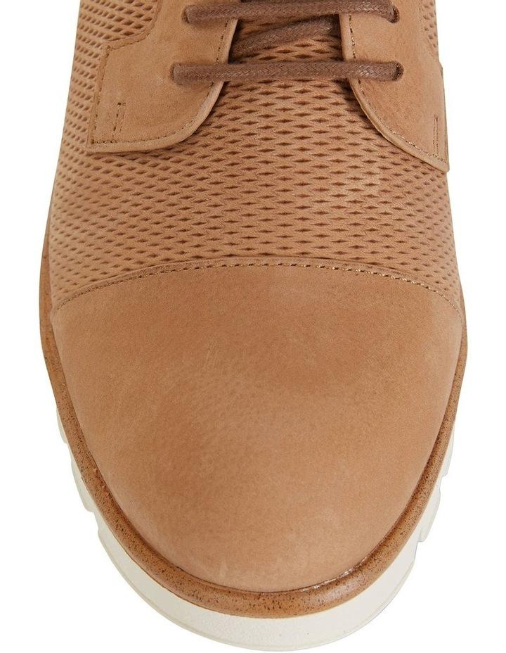 Vega Tan Nubuck Flat Shoes image 5