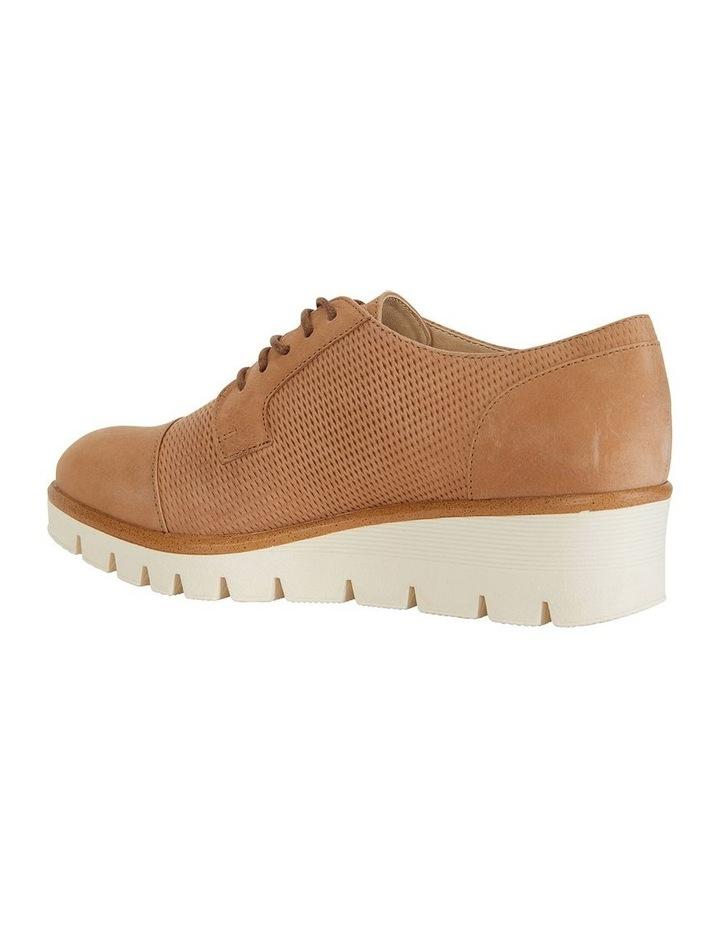 Vega Tan Nubuck Flat Shoes image 6