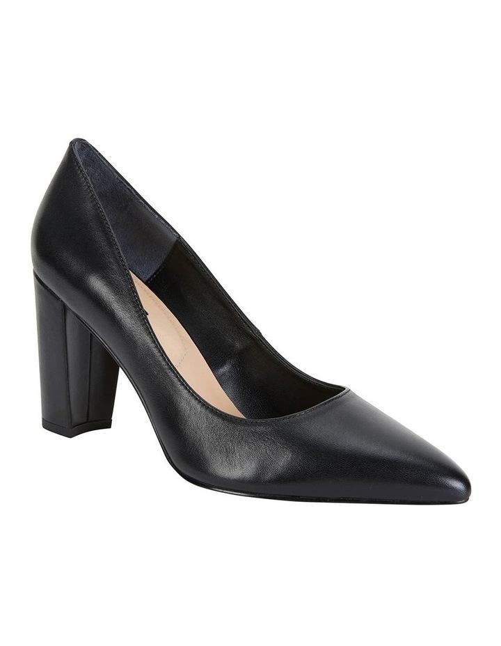 Lyric Black Glove Heeled Shoes image 2