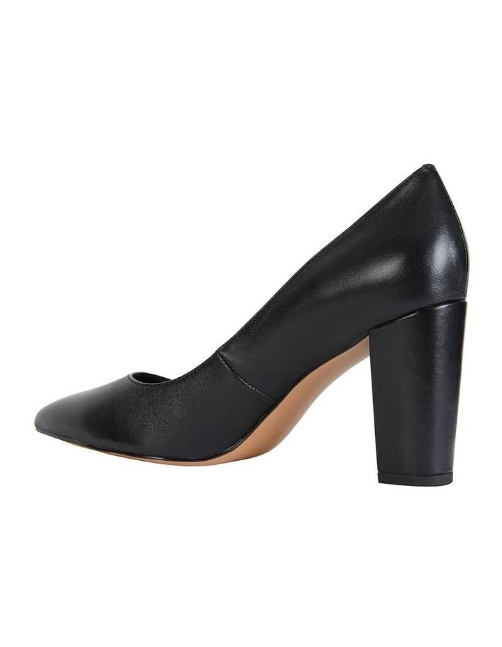 Lyric Black Glove Heeled Shoes image 6
