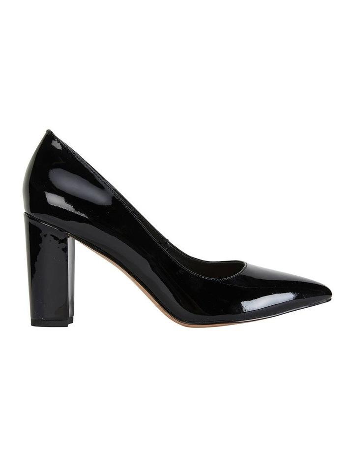 Lyric Black Patent Heeled Shoes image 1