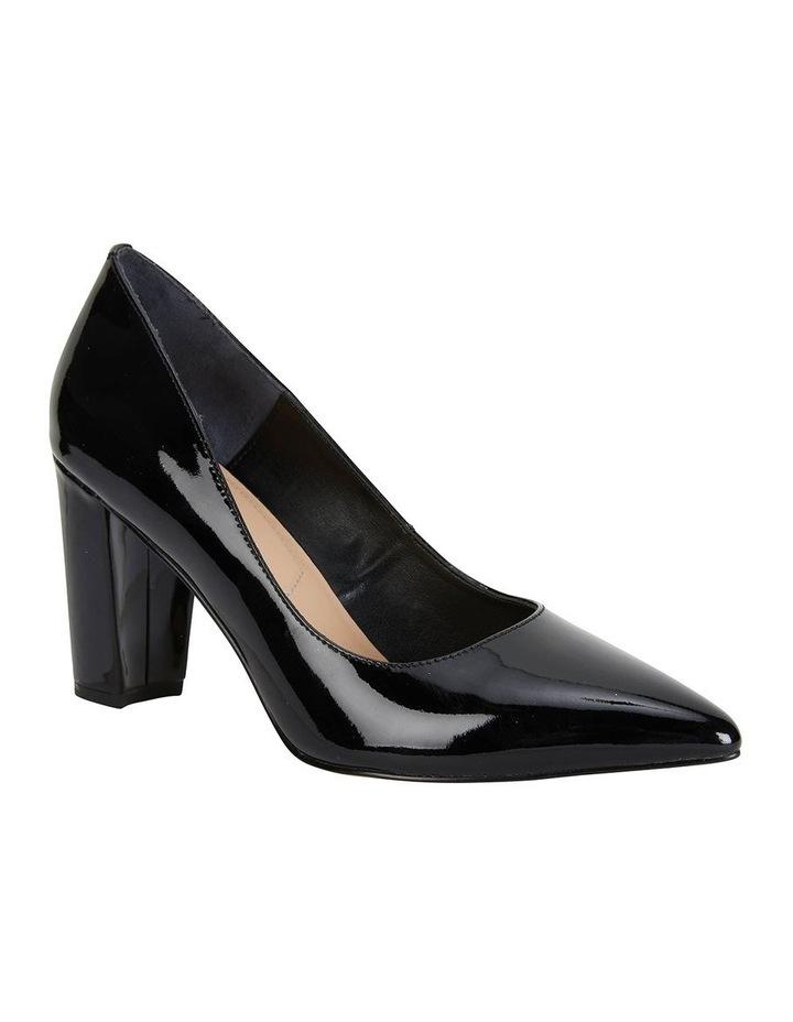 Lyric Black Patent Heeled Shoes image 2