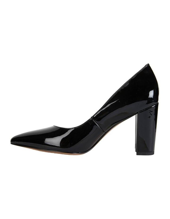 Lyric Black Patent Heeled Shoes image 3