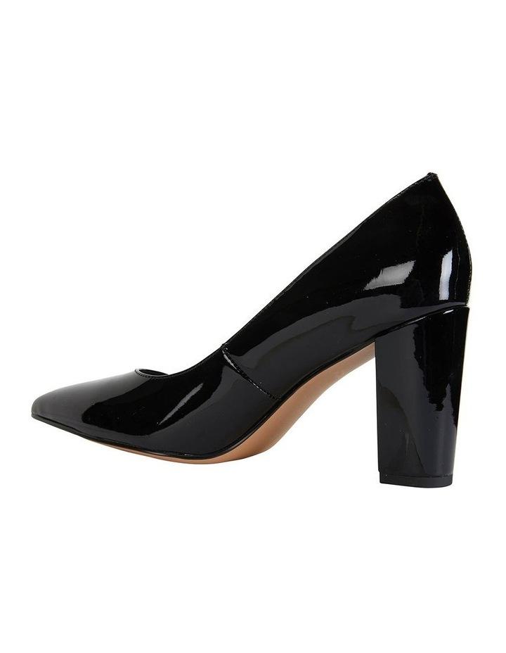 Lyric Black Patent Heeled Shoes image 4