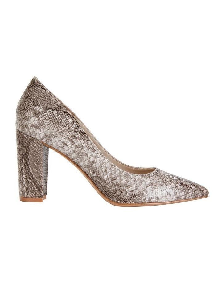 Lyric Snake Print Heeled Shoes image 1