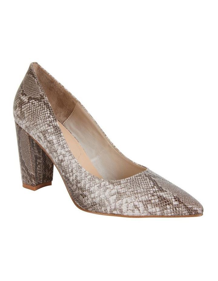 Lyric Snake Print Heeled Shoes image 2