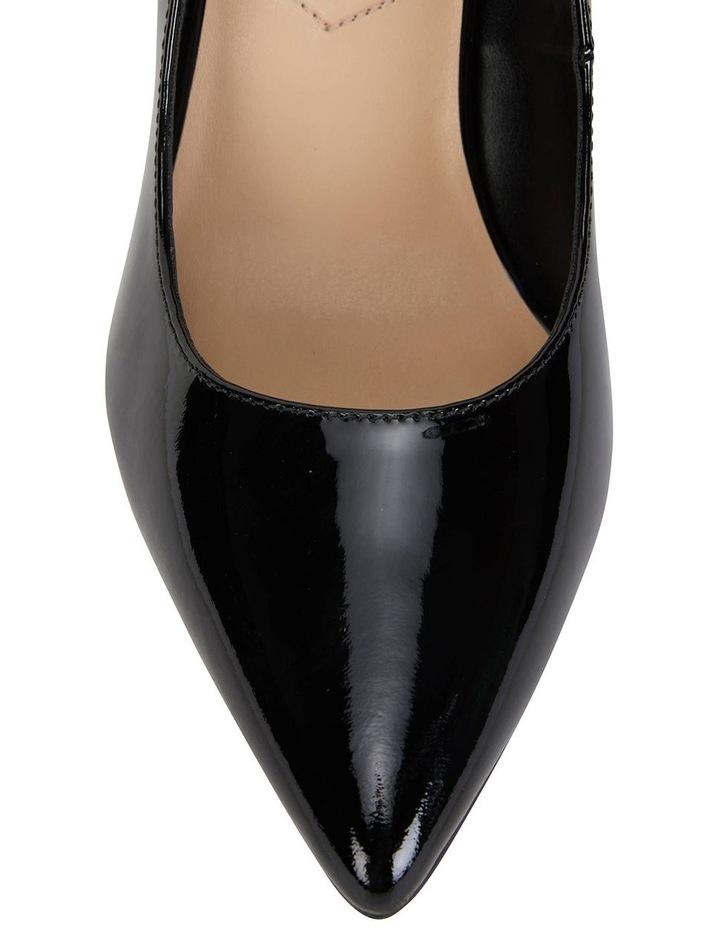 Octavia Black Patent Heeled Shoes image 4