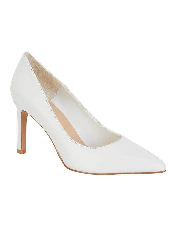 Octavia White Glove Heeled Shoes image 1