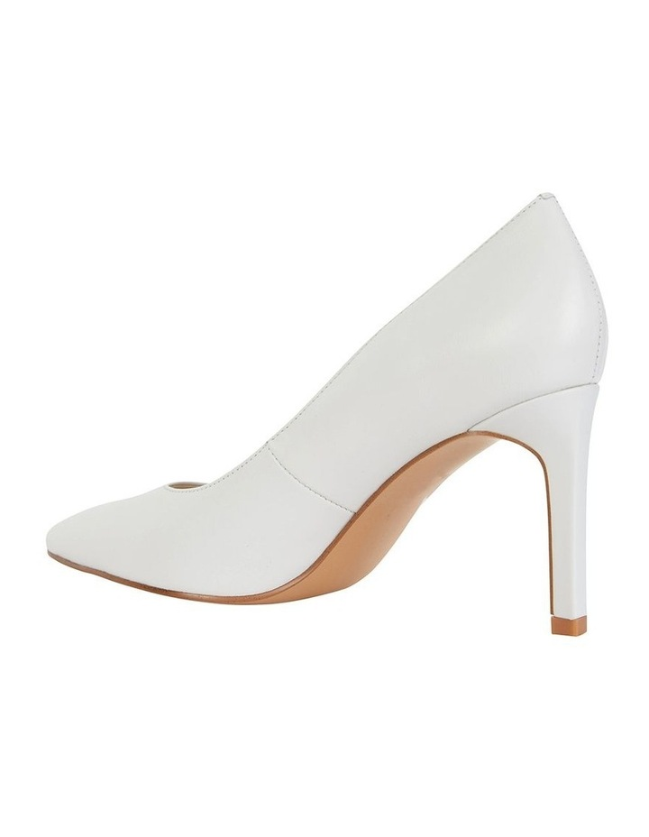 Octavia White Glove Heeled Shoes image 2