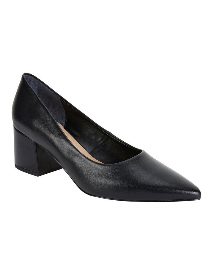 Sandler Idol Black Glove Heeled Shoe image 2
