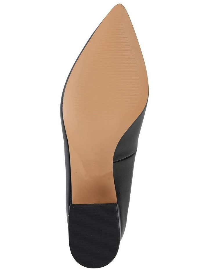 Sandler Idol Black Glove Heeled Shoe image 6