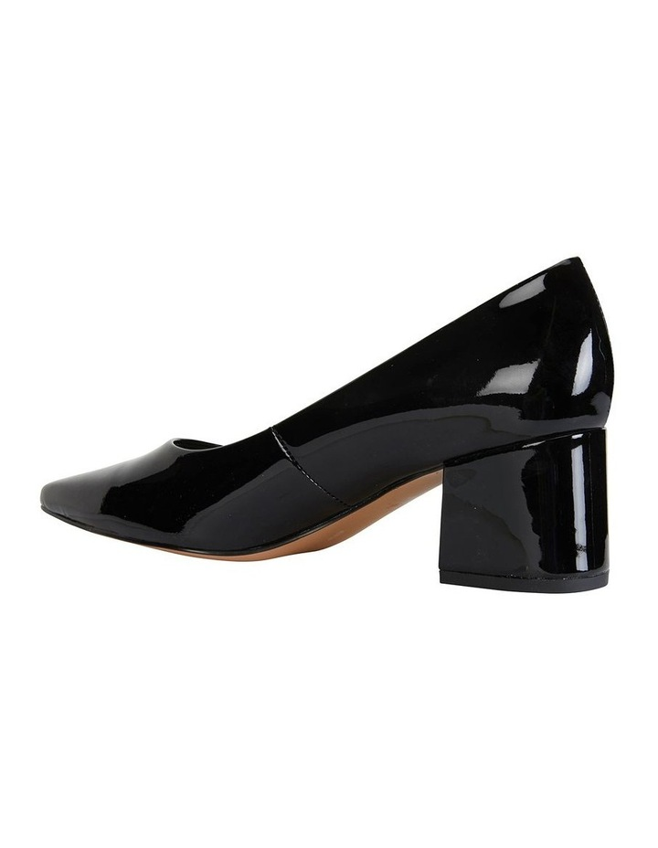 Idol Black Patent Heeled Shoe image 3