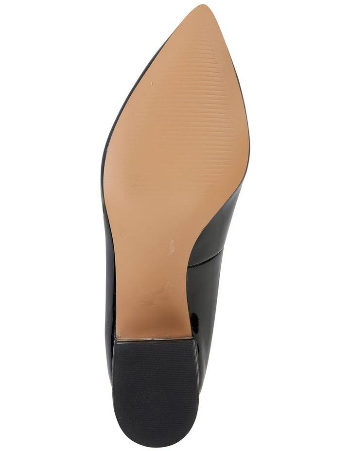 Idol Black Patent Heeled Shoe image 4