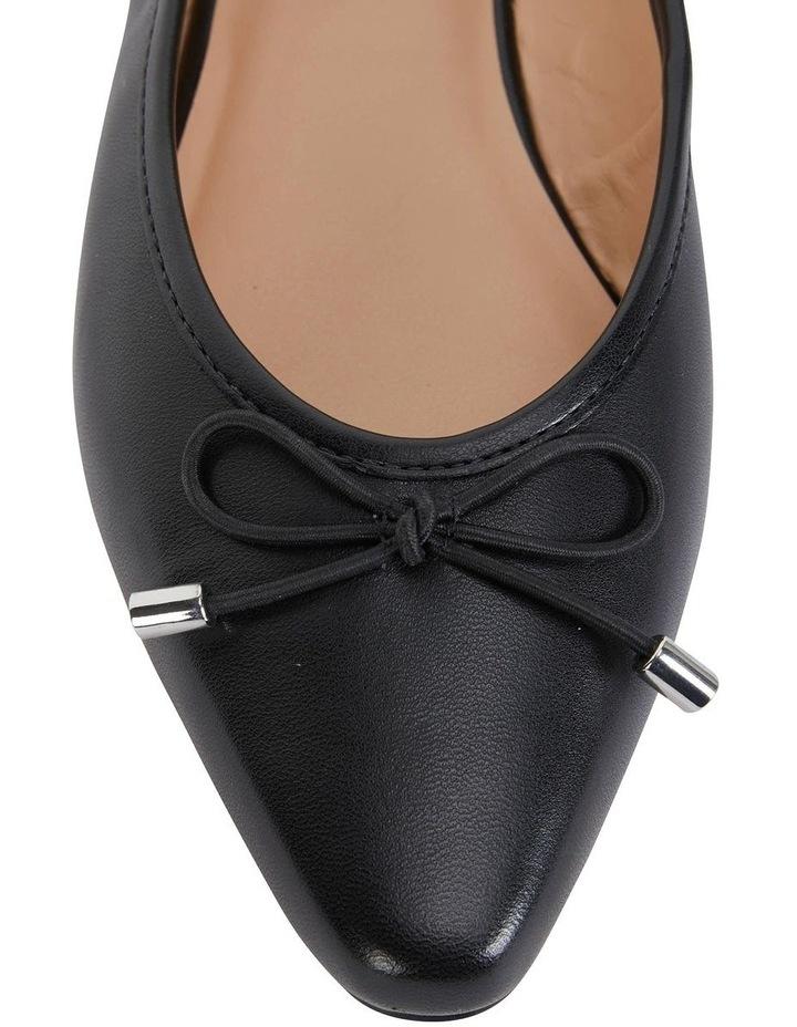 Kindle Black Glove Flat Shoe image 7