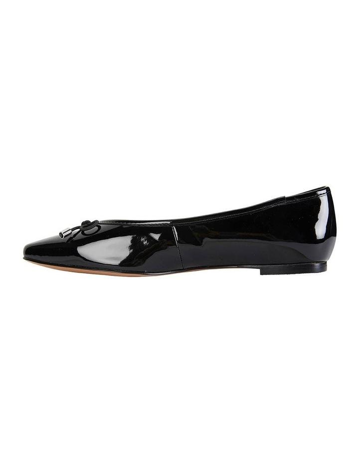 Kindle Black Patent Flat Shoe image 3