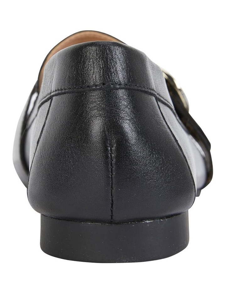 Tyson Black Glove Flat Shoe image 5