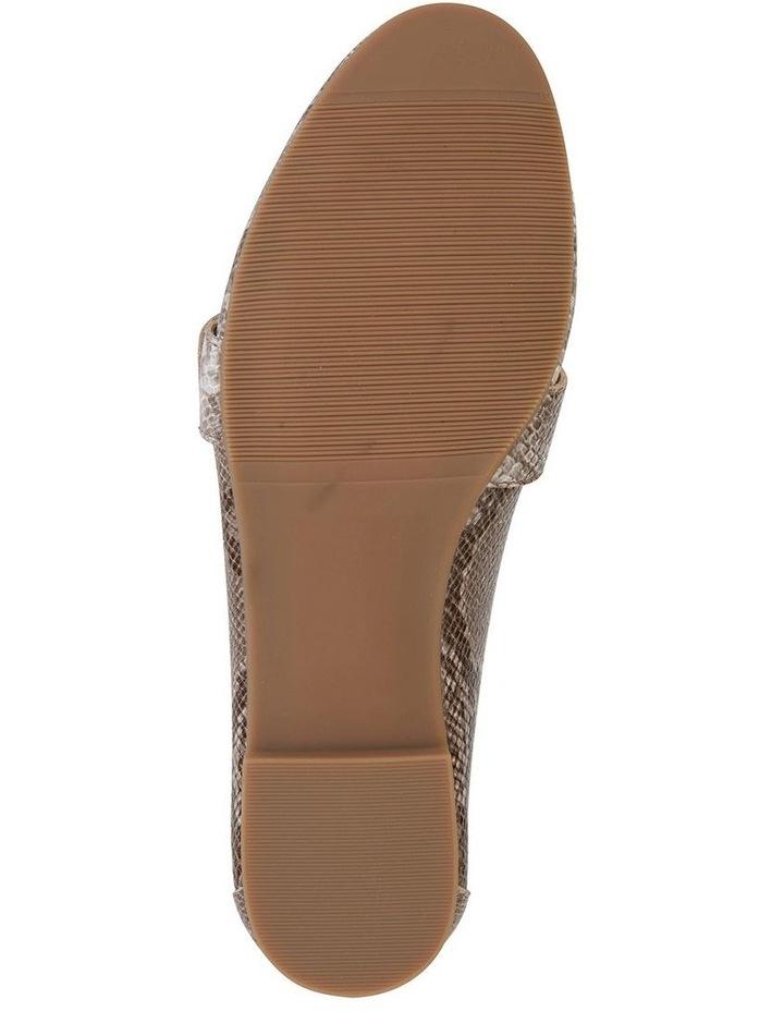 Tyson Snake Print Flat Shoe image 5