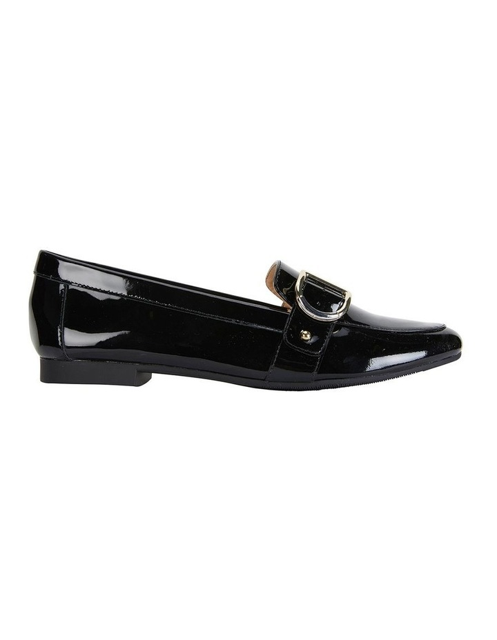 Tyson Black Patent Flat Shoe image 1