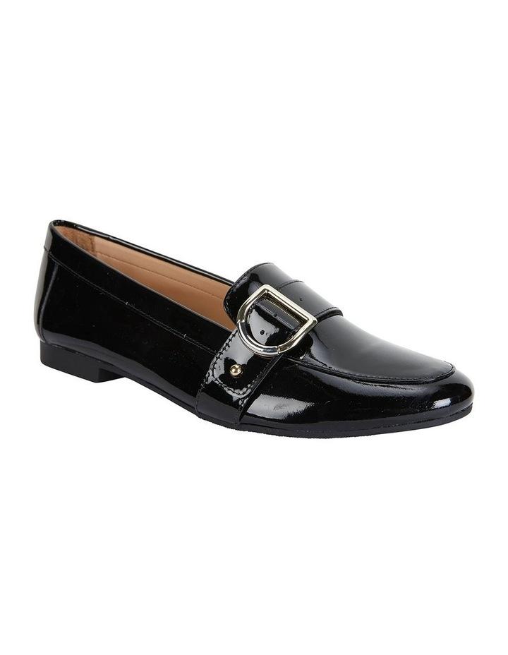 Tyson Black Patent Flat Shoe image 2