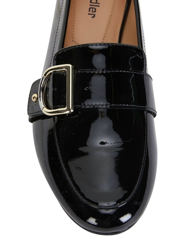 Tyson Black Patent Flat Shoe image 7