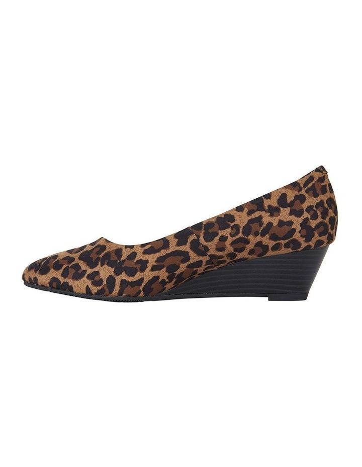 Henry Animal Fabric Wedge Shoe image 3