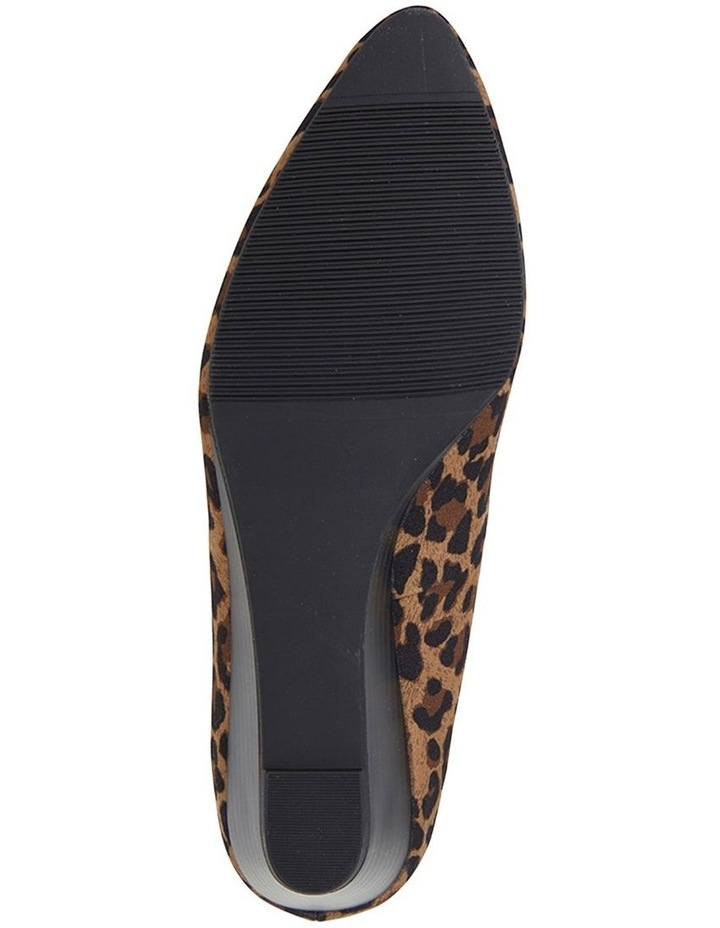 Henry Animal Fabric Wedge Shoe image 6