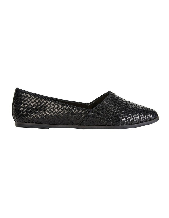 Shift Black Plait Flat Shoe image 1