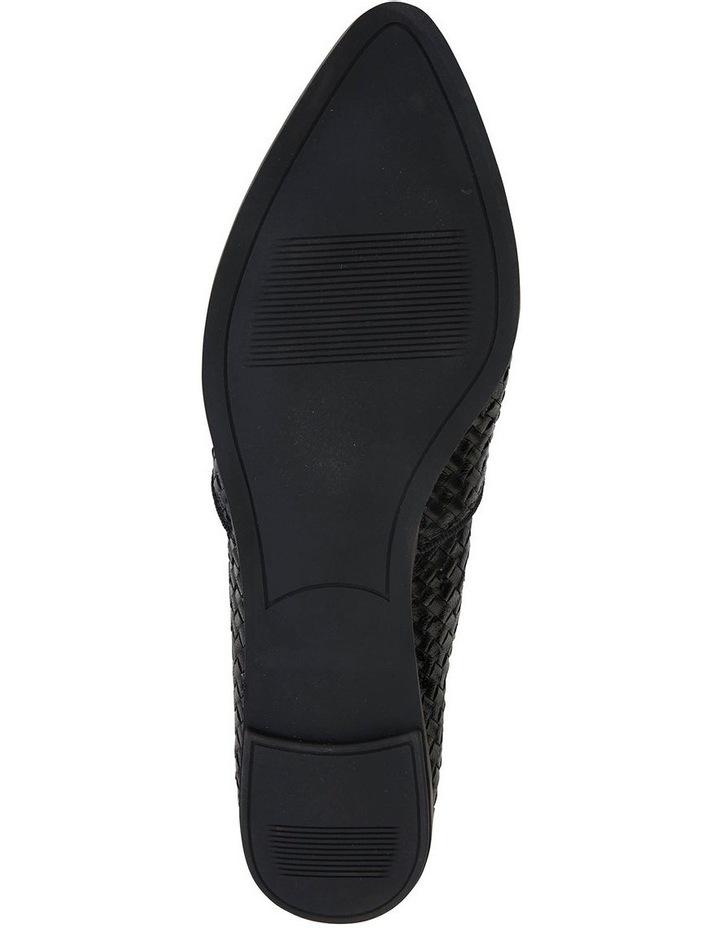Shift Black Plait Flat Shoe image 5