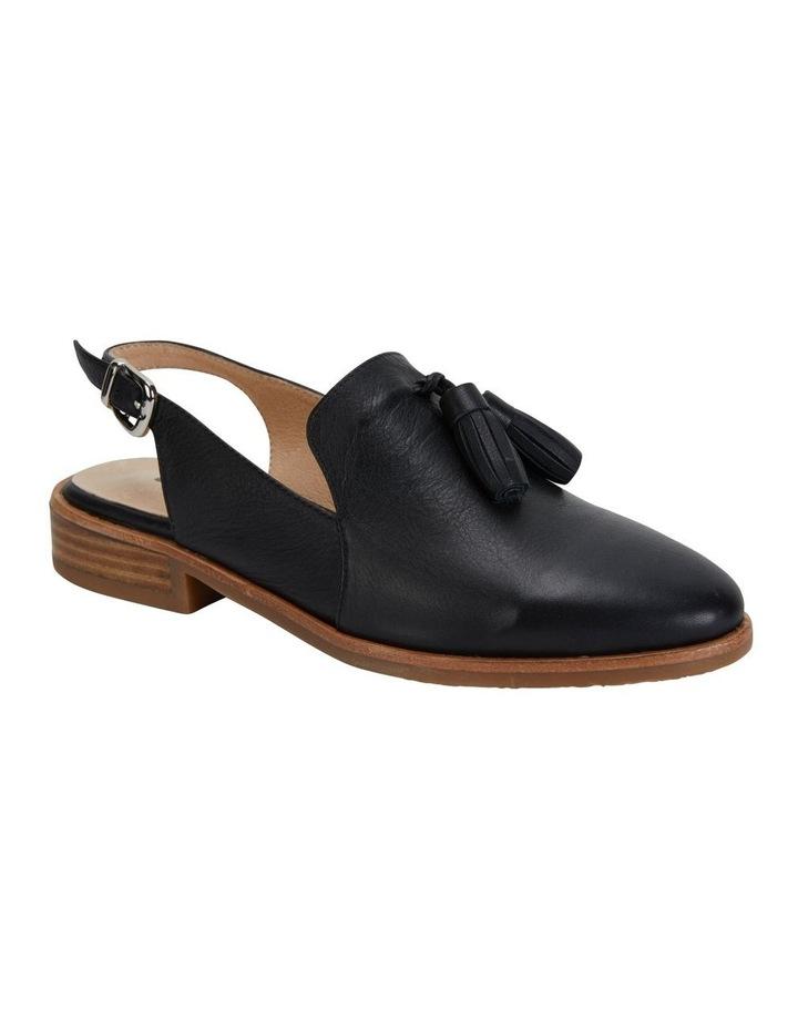 Sabina Black Glove Flat Shoes image 2