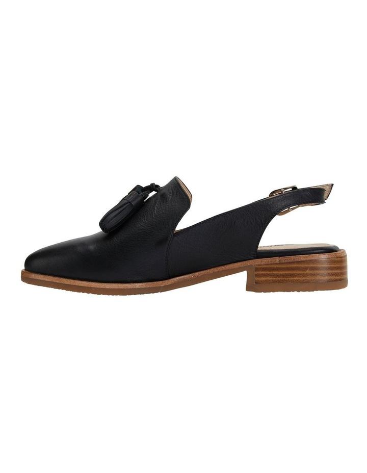 Sabina Black Glove Flat Shoes image 3