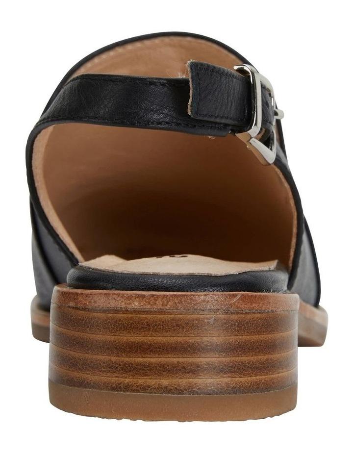 Sabina Black Glove Flat Shoes image 7