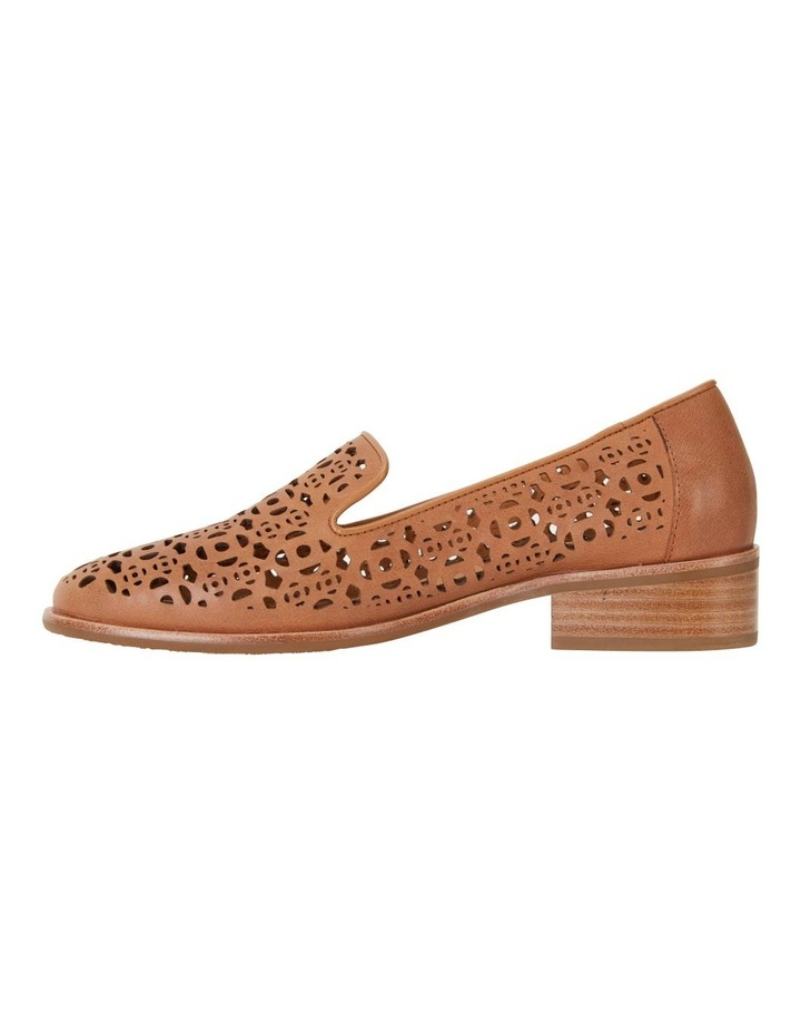 Satchel Tan Glove Flat Shoes image 3