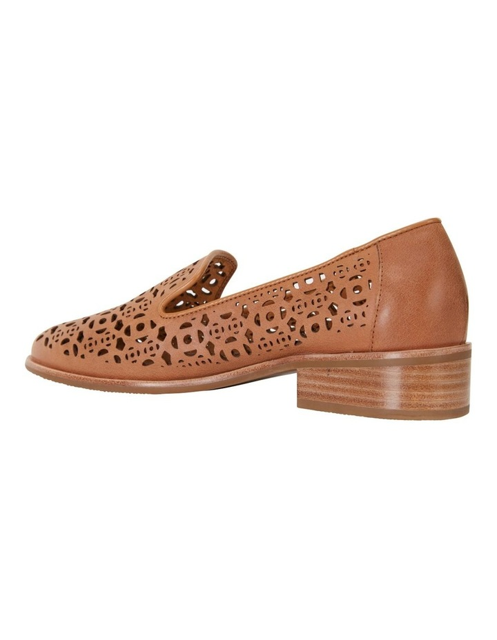 Satchel Tan Glove Flat Shoes image 4