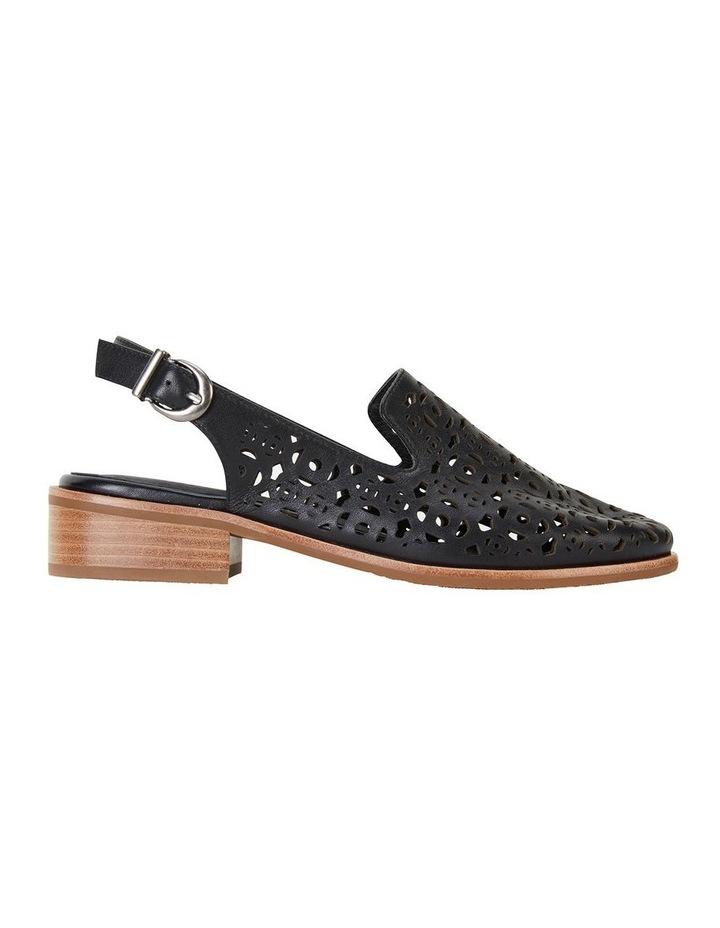 Scribe Black Glove Flat Shoes image 1