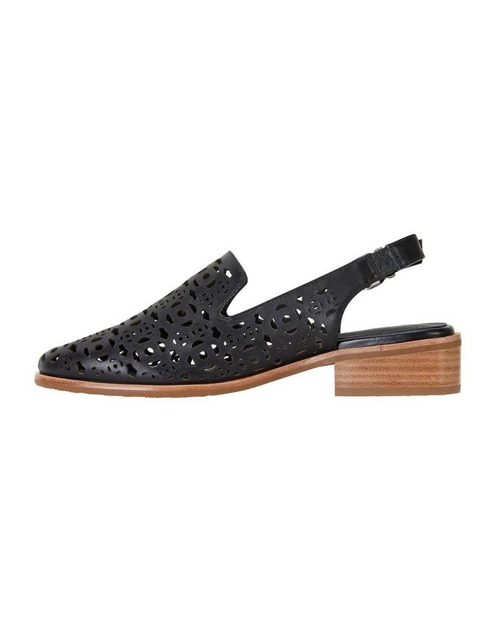 Scribe Black Glove Flat Shoes image 3