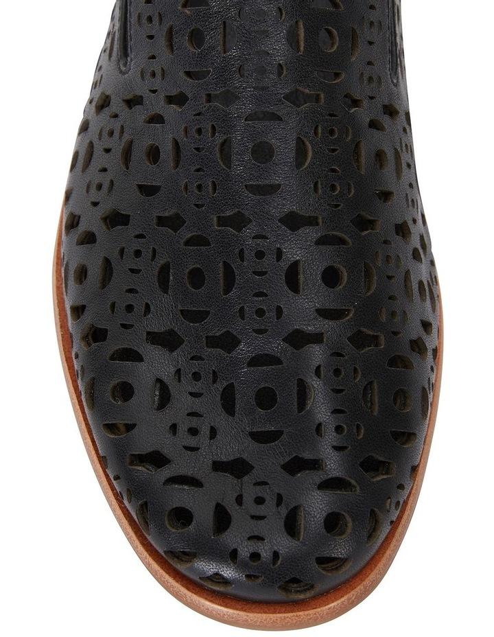 Scribe Black Glove Flat Shoes image 5