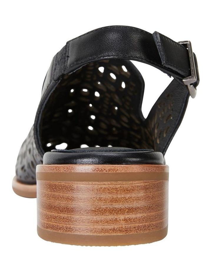 Scribe Black Glove Flat Shoes image 7