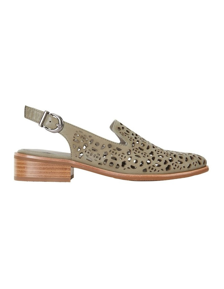 Scribe Khaki Glove Flat Shoes image 1