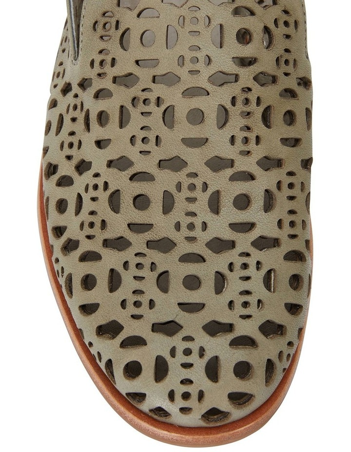 Scribe Khaki Glove Flat Shoes image 5